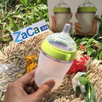 Bình Sữa Comotomo 250ml chính hãng, siêu mềm, mô phỏng ti mẹ