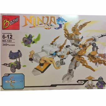 Bộ đồ chơi xếp hình Bozhi NINJA 345 miếng ghép cho bé