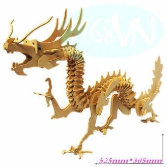 Bộ xếp hình 3D Rồng