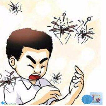 Bộ 10 miếng dán chống muỗi HANNOX.