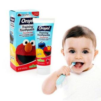 Kem đánh răng trẻ em Orajel Training Toothpaste 42.5g