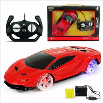 Xe ô tô điều khiển có sạc pin XZ5 (đỏ )