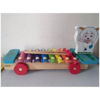 Đồ chơi đàn gỗ hình chú cừu AYX001
