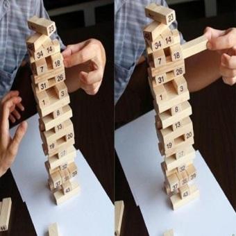 Bộ đồ chơi rút gỗ 54 thanh cho bé sáng tạo An Store