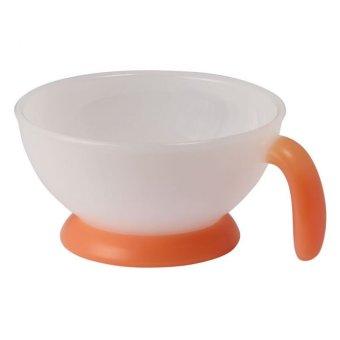 Bát ăn cho bé Combi-81010 (Trắng phối cam)