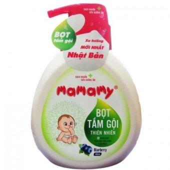 Bọt tắm gội Mamamy hương Blueberry 400ml