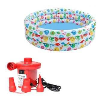 Bộ bể bơi Intex 56440 NP và Bơm điện bơm bể bơi 210W