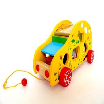 Xe ô tô thả hình (Vàng)