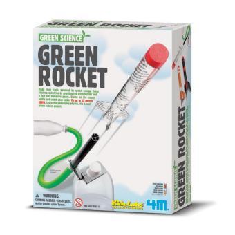Đồ chơi khoa học- Tên lửa xanh