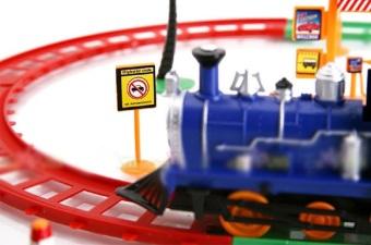 Bộ đồ chơi tàu lửa cho bé