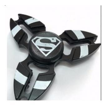 Con quay 3 cánh fidget spinner hình spiderman (Đen)