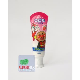 Kem đánh răng hương dâu Lion 40g(Hồng)