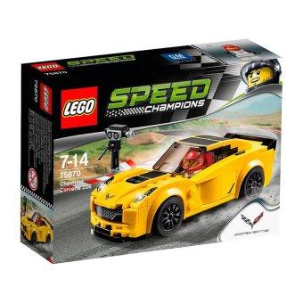 Hộp LEGO Speed 75870 Xe Đua Chevrolet Corvette Z06 _ 173 chi tiết