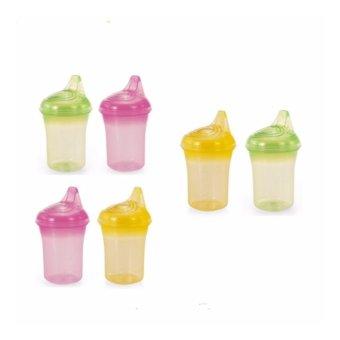Bộ 2 cốc tập uống chống đổ UPASS HỮU CƠ – nhiều màu