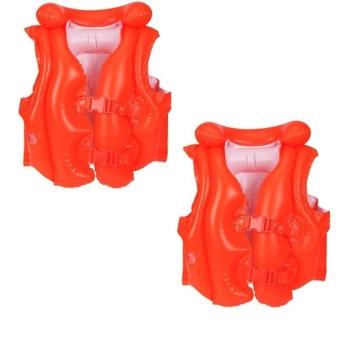 Bộ 2 áo phao bơi Intex 58671 (Đỏ)