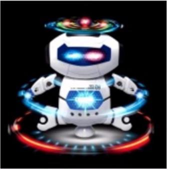 Robot Biết Xoay 360 Độ Biết Hát(Trắng)
