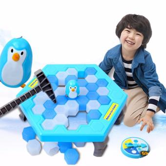 Bộ trò chơi bẫy chim cánh cụt phá băng cực vui nhộn