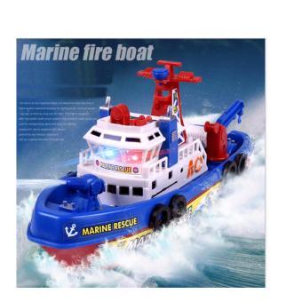 Tàu thủy dã chiến (Fireboat) chạy bằng pin dưới nước dành cho bé yêu + tặng kèm pin