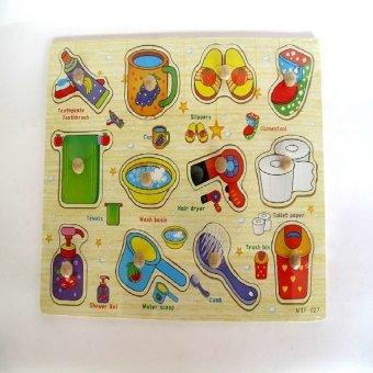 Bảng đồ dùng sinh họat núm nhựa KI099D
