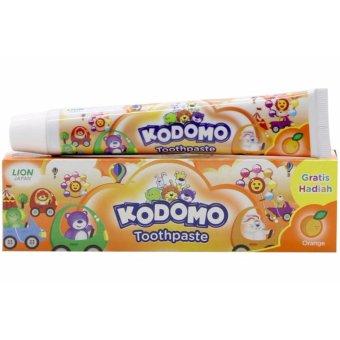 Kem đánh răng trẻ em Kodomo hương cam(Không Cay)