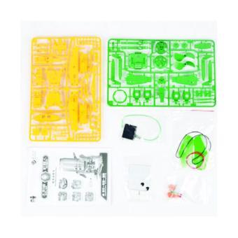 Bộ lắp ráp năng lượng mặt trời Robot tái chế 6 trong 1 Recycled Robot Kit Educational Toy