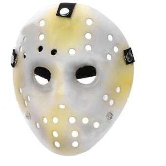 Awesome Carnival Halloween Masquerade Party Stylish Hollow-out Holes Jason Mask - intl