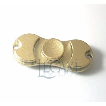 Đồ Chơi Con Xoay Tròn Hand Fidget Spinner Kim loại 2 cạnh 20-40 giây Legaxi HSC5