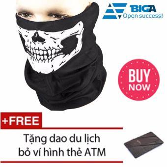 Khẩu Trang Bịt Mặt Thần Chết Tặng Dao ATM