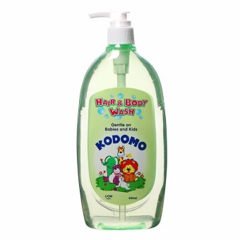 Dầu tắm gội Kodomo cho trẻ sơ sinh 400ml