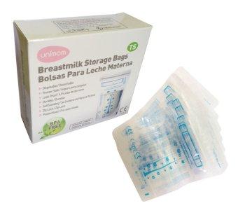 Túi đựng sữa mẹ cảm ứng nhiệt Unimom UM870176 TS không BPA 210ml 30 túi