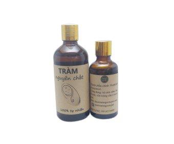 Bộ 2 chai tinh dầu tràm dùng cho trẻ sơ sinh Ngọc Tuyết 100ml và 50ml