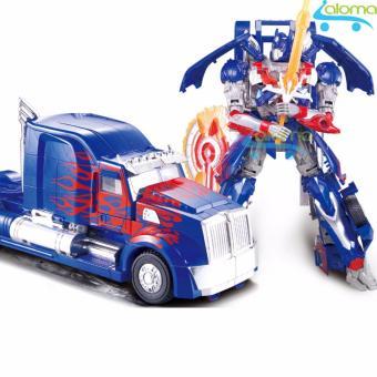 Robot biến hình ôtô Transformer cao 20cm mẫu Optimus Prime