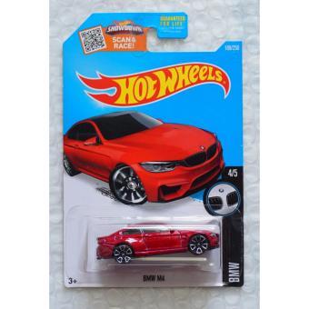 Xe ô tô mô hình tỉ lệ 1:64 Hot Wheels BMW M4 189/250 - Đỏ