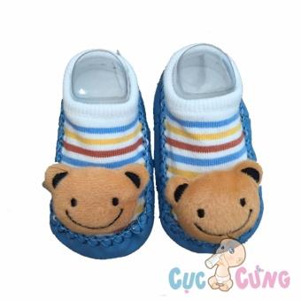 Giày tập đi cho trẻ sơ sinh - hình gấu