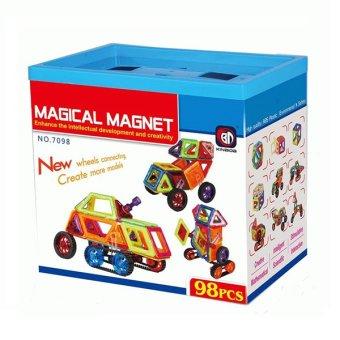 Bộ Đồ Chơi Nam châm MAGICAL MAGNET 98 miếng Vuông