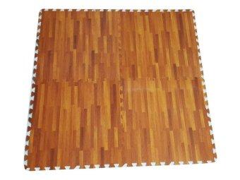 Thảm xốp trẻ em 4 miếng 60x60cm vân gỗ