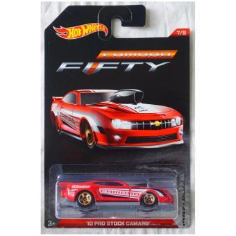 Xe ô tô mô hình tỉ lệ 1:64 Hot Wheels Camaro Kỉ niệm 50 năm 10 Pro Stock Camaro 7/8 ( Đỏ )