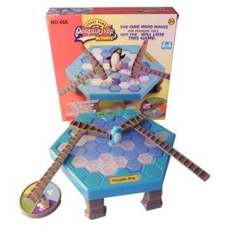 Bộ đồ chơi phá băng, bẫy chim cánh cụt