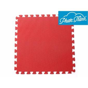Thảm trẻ em 4 miếng Phước Thành 50x50x1cm (Đỏ) - Hãng phân phối chính thức