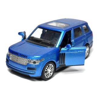 Mô hình xe sắt 1/32 14cm SUV Kiểu dáng Range Rover (Xanh)