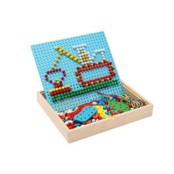 Đồ chơi hộp xếp và xâu hình thông minh Aplaza AWS0060