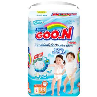 Bộ 4 tã quần Goon Slim JB L48
