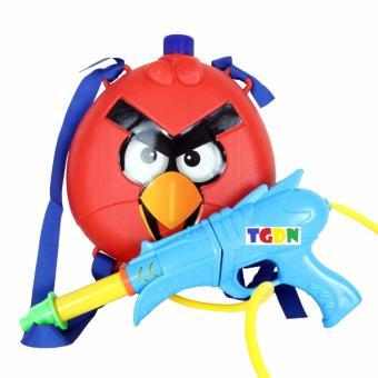 Đồ chơi súng phun nước Angry Bird kèm va li chứa nước cao cấp