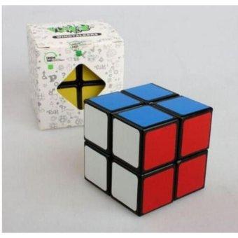 Bộ Rubik cấp 2 nền màu đen -AL