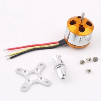 BolehDeals A2212 KV2200 Brushless Motor For RC Multirotor Aircraft Model Airplane Hobby - Intl