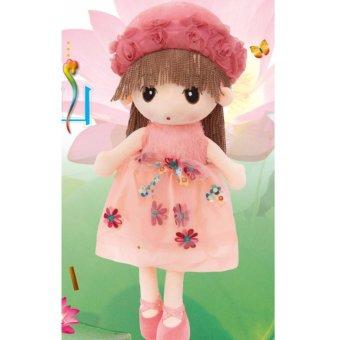 Búp bê đồ chơi sang trọng (món quà sinh nhật )( hồng nhạt)