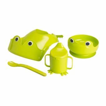 Bộ ăn dặm 4 món IKEA MATA (ếch xanh)
