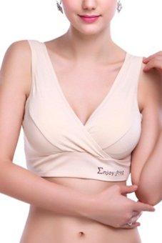 Áo lót nâng ngực cho mẹ Family shop AL08 (be)