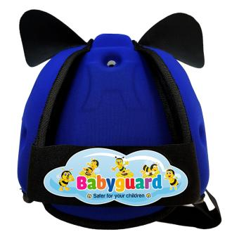 Nón Bảo Hiểm Bảo Vệ Đầu Em Bé Tập Đi Babyguard (Xanh Bích)