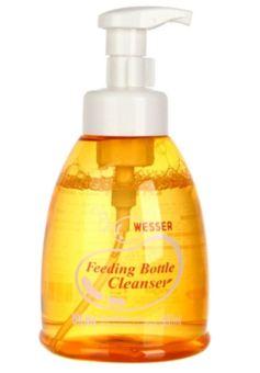 Nước rửa bình sữa 500ml Wesser (Vàng)
